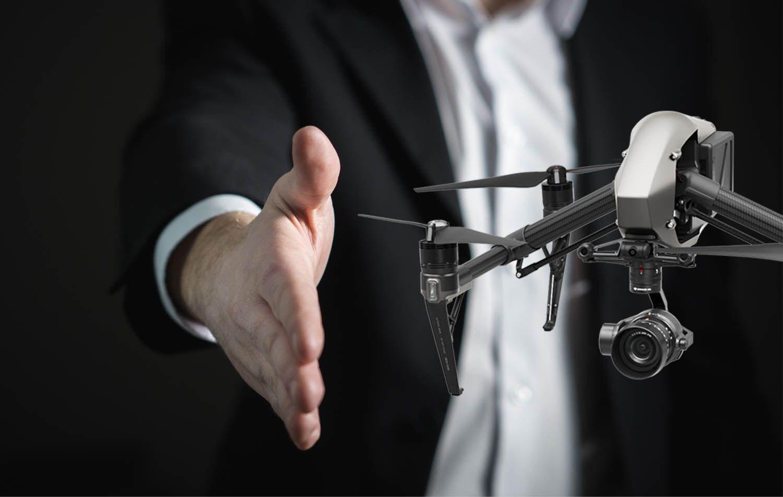 ¿Cómo contratar una empresa de drones?