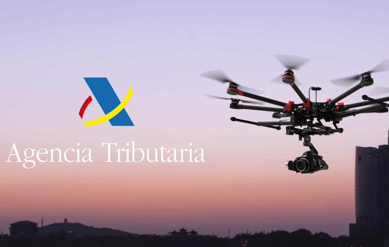 Hacienda utiliza drones para descubrir construcciones que no pagan el IBI (impuesto sobre bienes inmuebles)