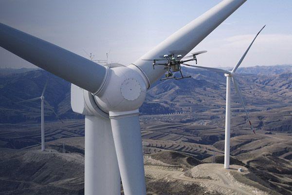 El uso de los drones en la industria energética