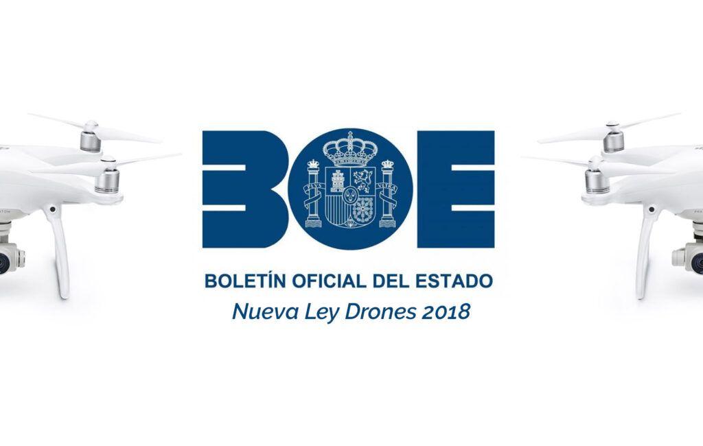 Ley 18/2014 que regula el uso de drones en España.